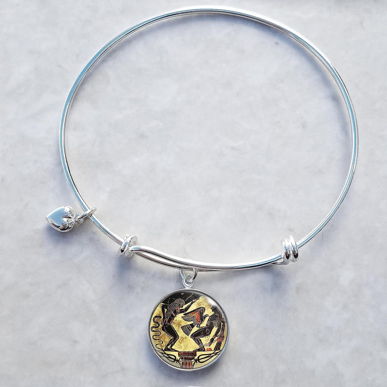 Prometheus Phoenix Mall Sterling Silver Popular popular Expandable Wire Bangle Bracelet Charm