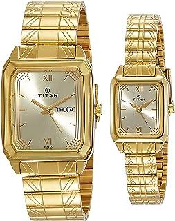 Titan Bandhan analog Gold Dial Men's Watch NM15812488YM05/NN15812488YM05