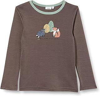 NAME IT Nmmwillit Wool LS Top Noos XX Camiseta de Manga Larga para Niños