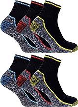 Sock Snob Chaussettes de travail en bambou anti-transpiration résistantes et respirantes pour hommes pour bottes à bout en...