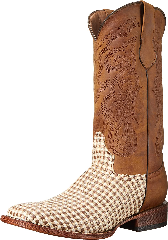 Ferrini Men's Basket Weave Western Boot