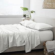 طقم ملاءة سرير من هوم كوليكشن Queen IEH-4PC-BEA-QUEEN-SAGE