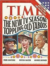 Time Magazine September 25 1972 The New TV Season:  Toppling Old Taboos
