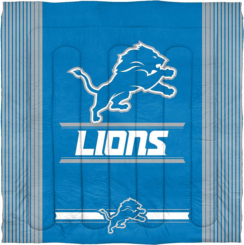 Multi Color Multiple Sizes Officially Licensed NFL Safety Comforter and Sham Set