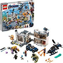 LEGO Marvel Avengers Compound Battle 76131 Building Set includes Toy Car, Helicopter, and popular Avengers Characters Iron Man, Thanos and more (699 Pieces)