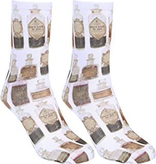 1 x Calcetines en crema pociones mágicas Harry Potter