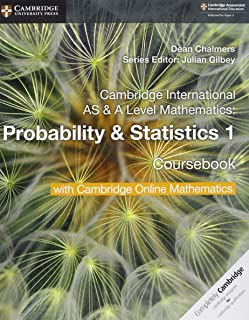 Cambridge International AS & A Level Mathematics Probability & Statistics 1 Coursebook with Cambridge Online Mathematics (...