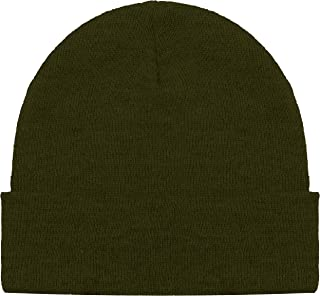 Blueberry Uniforms Merino Wool Beanie Hat -Soft Winter and Activewear Watch Cap