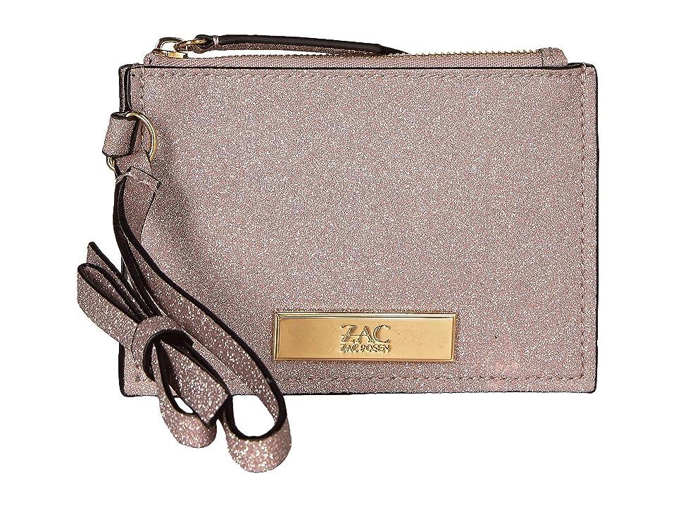 ZAC Zac Posen Earthette Credit Card Wristlet (Rose Cloud) Wristlet Handbags