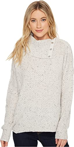 Michael Stars - Novelty Yarn Turtleneck Pullover with Snaps
