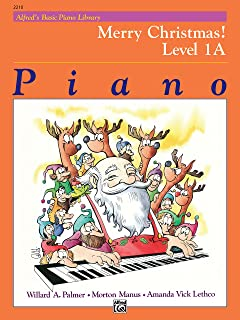 Alfred'S Basic Piano Library Merry Christmas 1a