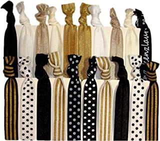 Best black and white hair ties Reviews