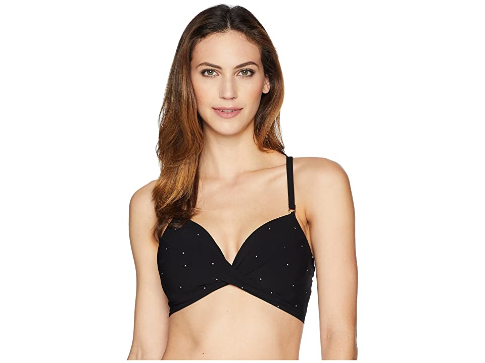 Robin Piccone Jennie D-Cup (Black) Women