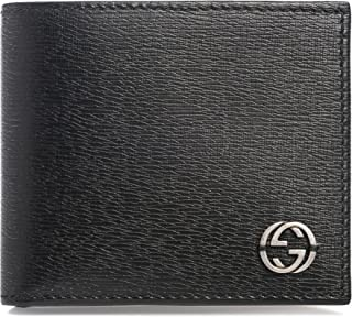 1ba5759b356 Gucci Black Shanghai Leather Wallet Guccissima style Box New Italy
