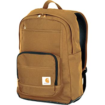 Carhartt Legacy Standard Work Backpack with Padded Laptop Sleeve and Tablet Storage Carhartt Brown 5HORI 19032102