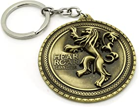 Teri's Boutique House of Lannister Hear Me Roar Lion Game of Throne Lover Men Women Keychain