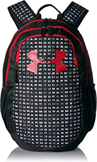 all black under armour backpack