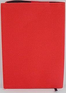 栞堂 ブックジャケット 早川文庫 トールサイズ 専用 ブックカバー (倉敷帆布レッド)