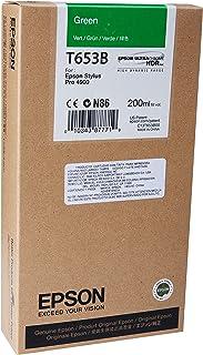 Epson UltraChrome HDR Ink Cartridge - 200ml Green (T653B00)