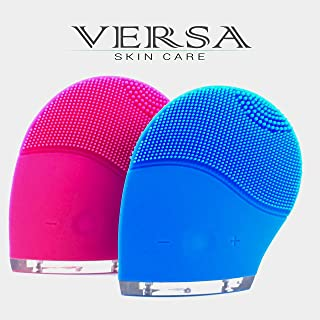 Versa Skin Care Electric Sonic Facial Cleansing and Massager Brush - Microdermabrasion Deep Cleansing