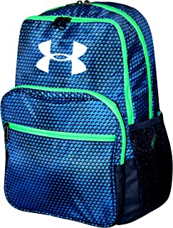 Under Armour HOF Youth Boys Athletic Multi purpose School Backpack (Royal blue/green /