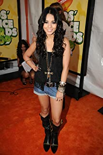 Vanessa Hudgens Black Tank Top Jeans Shorts Black Boots Hot Full at Event Photo (8 inch by 10 inch) PHOTOGRAPH TL