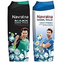 NavratnaMaxxCool Talc, 400gm And Navratna Cool Mint Fresh, 400g