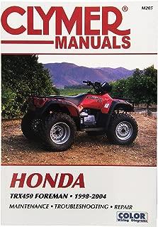 Best 2003 honda foreman 450 es manual Reviews