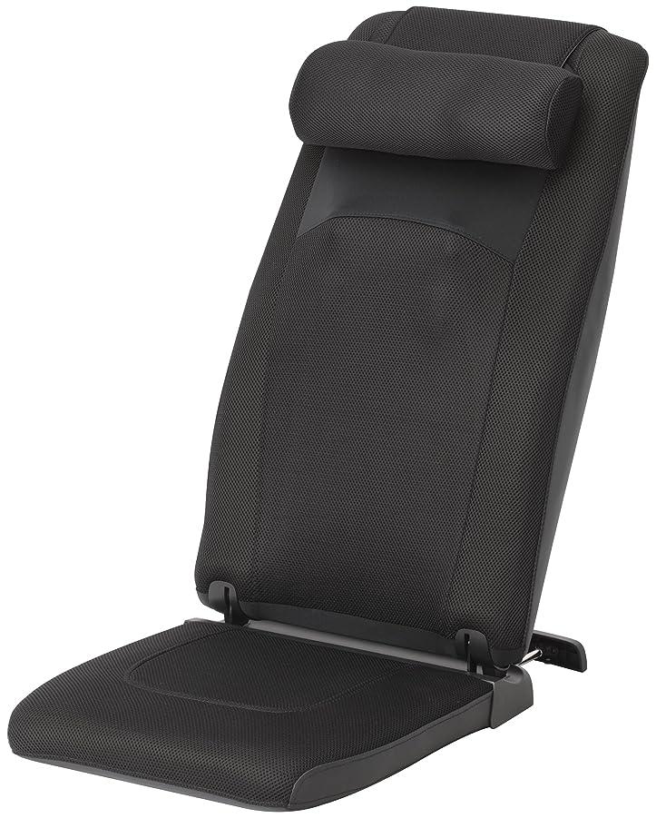 スライヴ 自立式マッサージシート(ヒーター機能搭載) 「つかみもみ機能搭載」 通販限定モデル ブラック MD-8615(K)