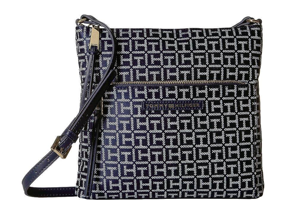 6a9b7b918511 Tommy Hilfiger Althea Crossbody (Navy White) Handbags