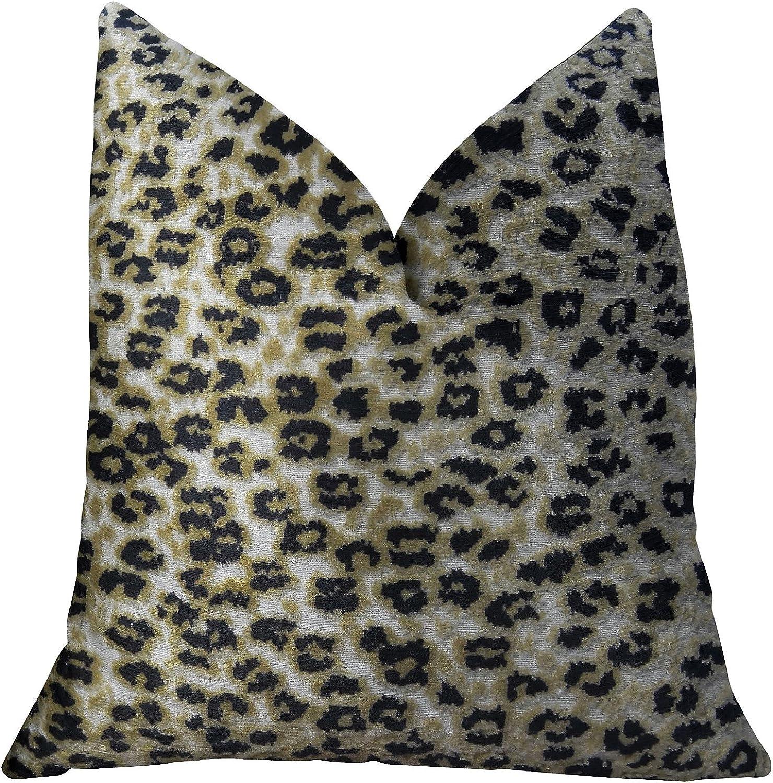 Plutus Brands Plutus Wild Cheetah Handmade Luxury Pillow, 26  x 26