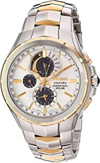 Men's Coutura Japanese-Quartz Watch with Stainless-Steel Strap, Two Tone, 25 (Model: SSC560)