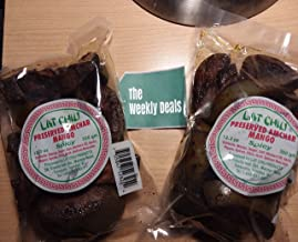 Lat Chiu Preserved Amchar Mango (Spicy) - 350g (Pack of 2) - Trinidad & Tobago Snacks