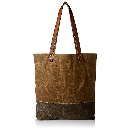 Women s Concise Style Waterproof Canvas Tote Shoulder Bag shopper bag 682b88b1e915c
