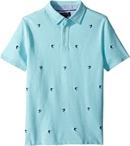 Polo Ralph Lauren Kids - Knit Cotton Oxford Shirt (Big Kids)