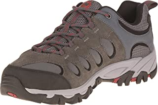 Merrell Ridgepass Bolt, Men's Low Rise Hiking Shoes, Grau (Granite/Red Ochre), 8 AU