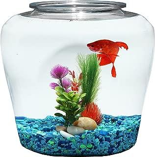 Koller Products 2 Gallon Fish Bowl - Impact-Resistant Plastic