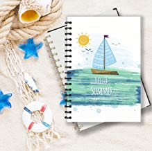 HELLO SUMMER NOTEBOOK (NO.2): This is a notebook with a modern style, showing a liberal, fresh, welcoming summer coming. Use it to create a weekly plan and write down your favorite things. Size: 6*9