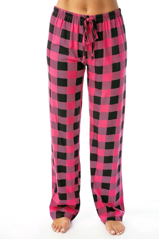 Just Love Women Buffalo Plaid Pajama Pants Sleepwear 6324-10195-FUS-XS