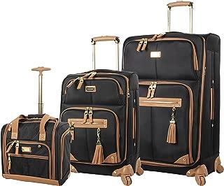 houndstooth luggage set