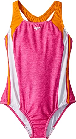 Infinity Splice One-Piece Swimsuit (Big Kids)