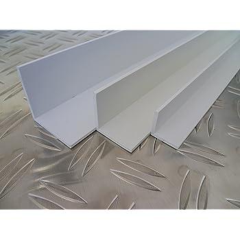 Tidyard Corni/ère Aluminium 4 pcs 2 m 1515x2 mm Profile en L