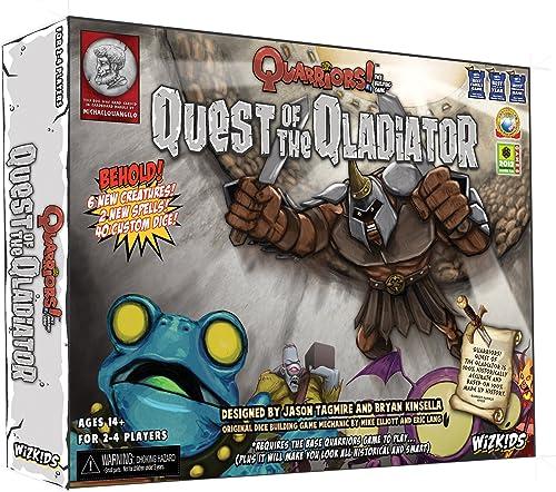 Wizkids   NECA Quarriors  Quest of The Qladiator Expansion