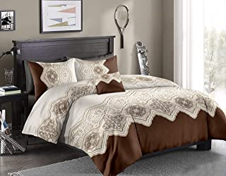 Flower Single Comforter, 160X220Cm, 4 Pieces