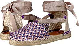 Ankle Wrap Espadrille