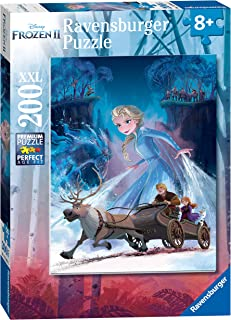 Ravensburger 12865 Disney Frozen 2 - The Mysterious Forest - 200 Piece Jigsaw Puzzle for Kids - Every Piece is Unique - Pieces Fit Together Perfectly