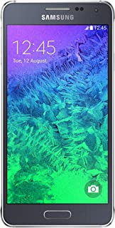 Samsung Galaxy Alpha, Charcoal Black 32GB (AT&T)