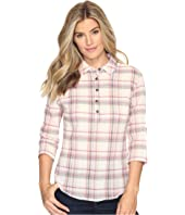 Royal Robbins - Oasis Plaid Popover Top