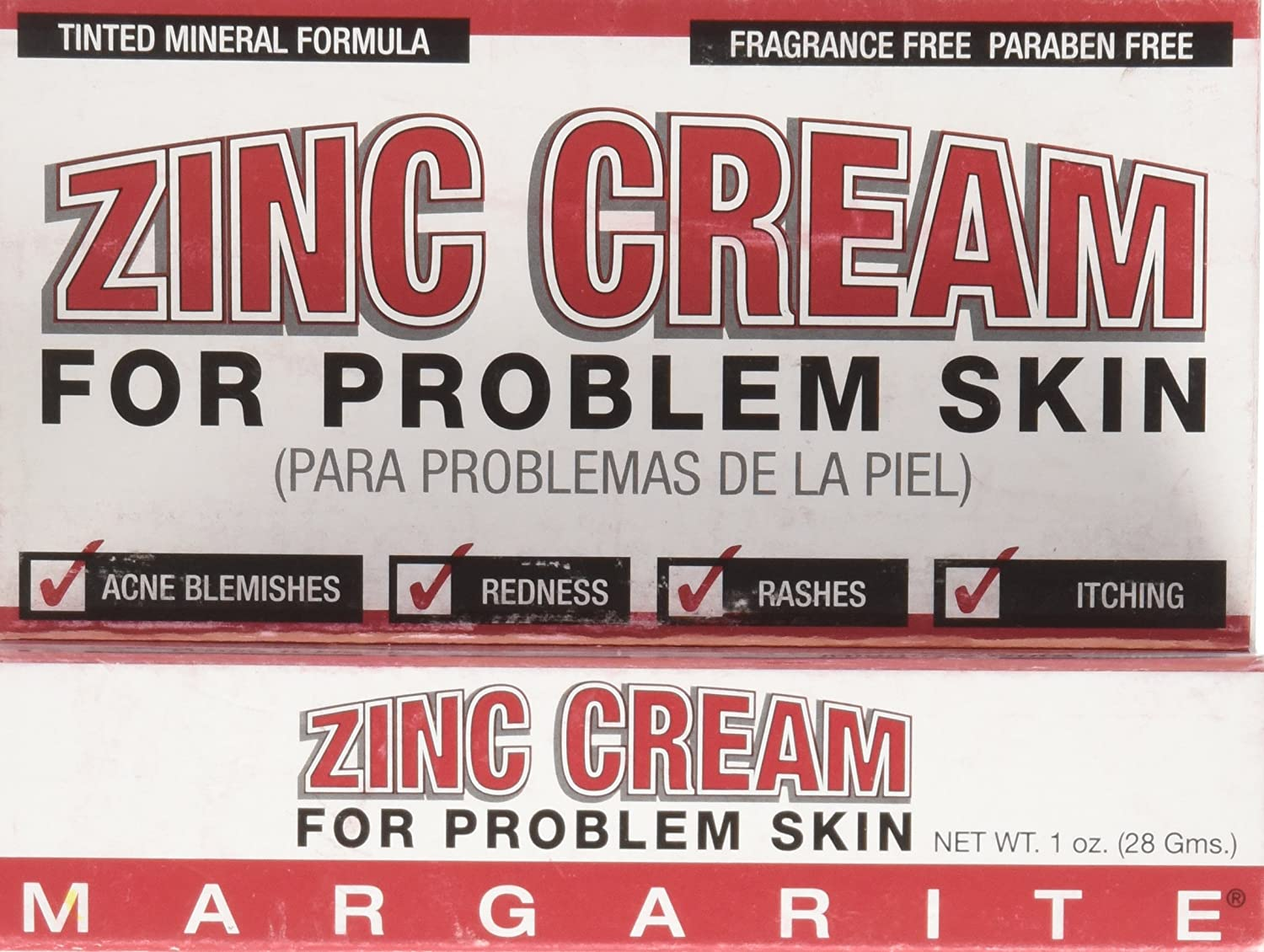 Margarite Cosmetics Easy-to-use Zinc Cream 1 Ranking TOP2 of 24 Pack Ounce