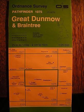 OLD ORDNANCE SURVEY MAP GREAT DUNMOW  /& DISTRICT /& PLAN Gt DUNMOW 1893 SHEET 222